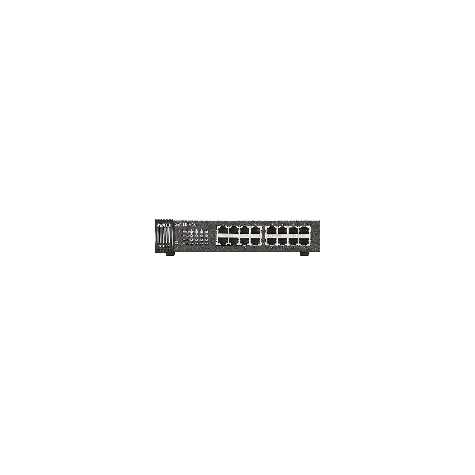 ZyXEL GS-1100 16-Port Gigabit Switch
