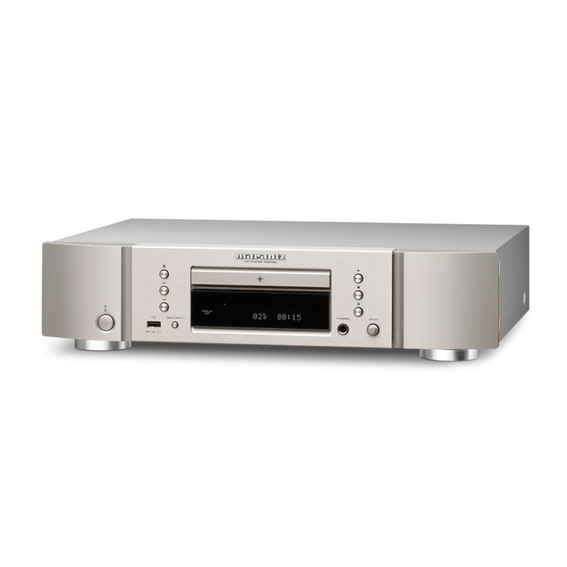 Marantz CD6006 High-End CD-Player silber/gold