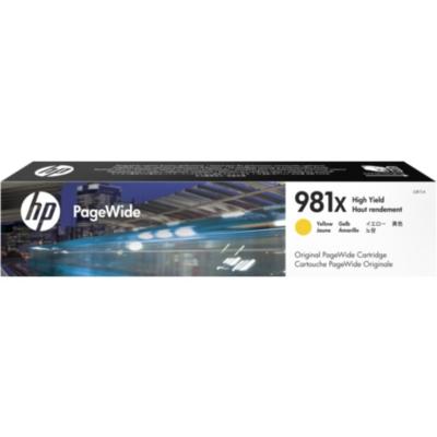 HP  L0R11A Original Druckerpatrone 981X Gelb hohe Kapazität 10.000S. | 0889296095279