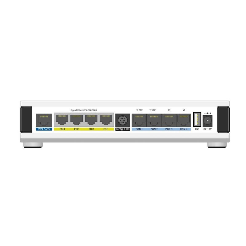 LANCOM 884 VoIP Business Router (All-IP, EU, over ISDN)