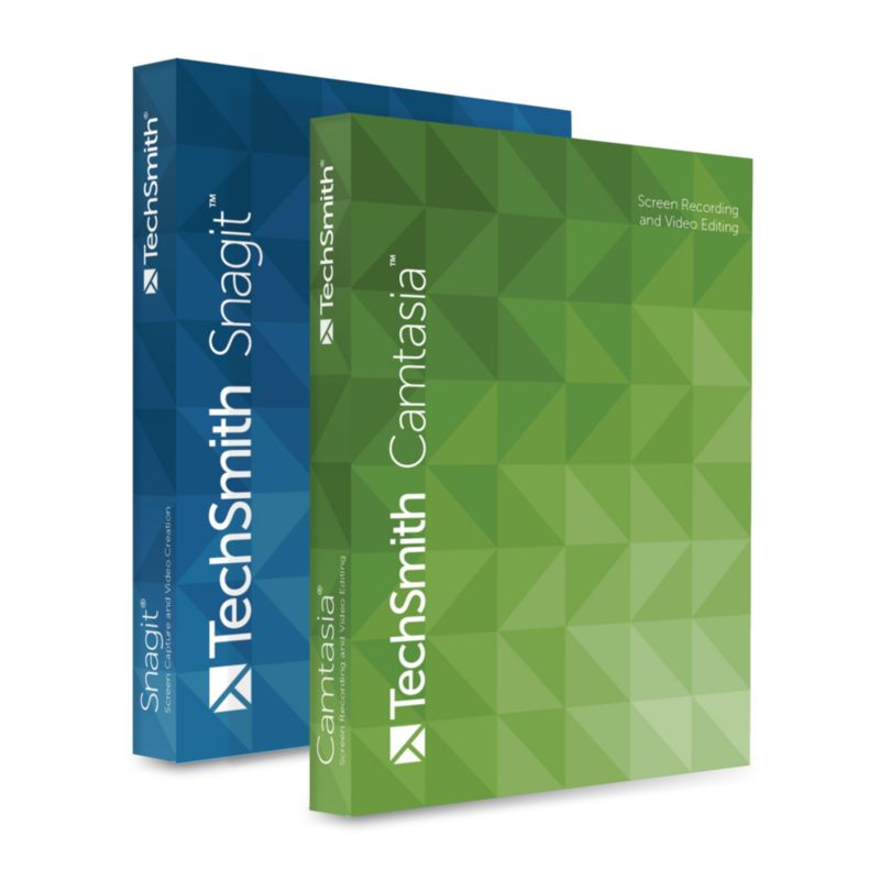 TechSmith Snagit & Camtasia Studio Bundle 1-4 User Win ESD