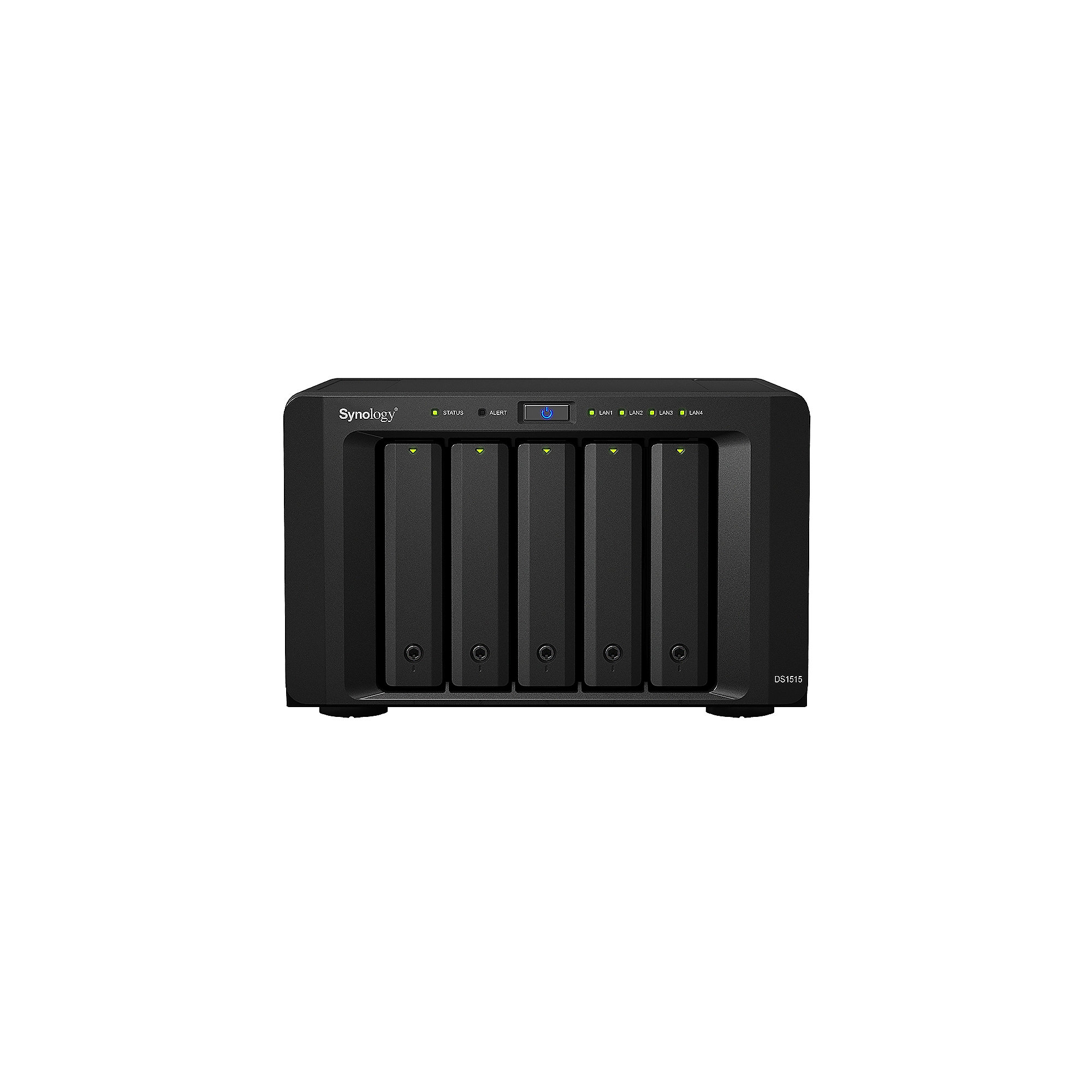 Synology Diskstation DS1515 NAS 5-Bay 10TB inkl. 5x 2TB WD RED PRO WD2002FFSX