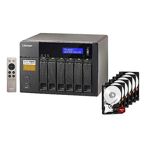 QNAP TS-653A-4G NAS System 6-Bay 48TB inkl. 6x ...