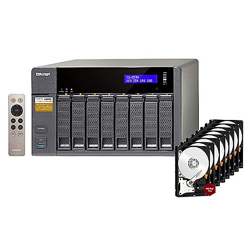 QNAP TS-853A-8G NAS System 8-Bay 64TB inkl. 8x ...