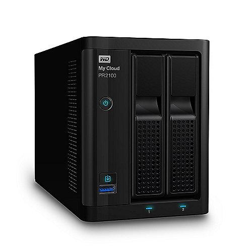 WD My Cloud Pro PR2100 NAS System 2-Bay 4TB inkl. 2x 2TB HDD WDBBCL0040JBK-EESN | 0718037846040