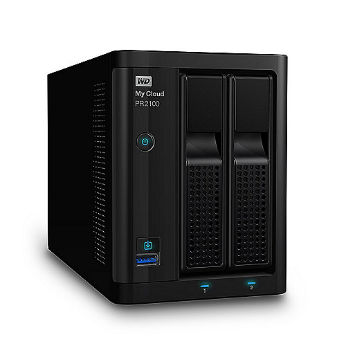 My Cloud Pro PR2100 NAS System 2-Bay 4TB inkl. 2x 2TB HDD