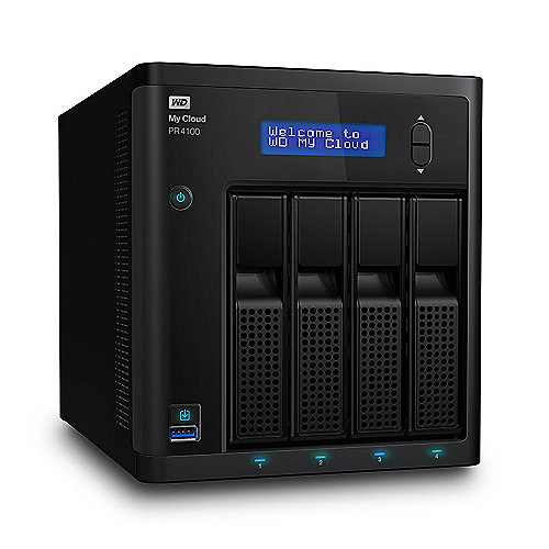 My Cloud Pro PR4100 NAS System 4-Bay 16TB inkl. 4x 4TB HDD