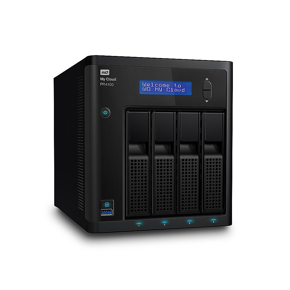 My Cloud Pro PR4100 NAS System 4-Bay 24TB inkl. 4x 6TB HDD