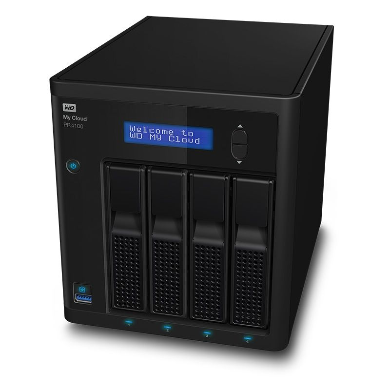 My Cloud Pro PR4100 NAS System 4-Bay 32TB inkl. 4x 8TB HDD