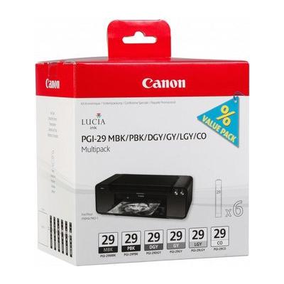 Canon  4868B018 Tintenmultipack PGI-29 für PIXMA PRO-1 | 8714574623214