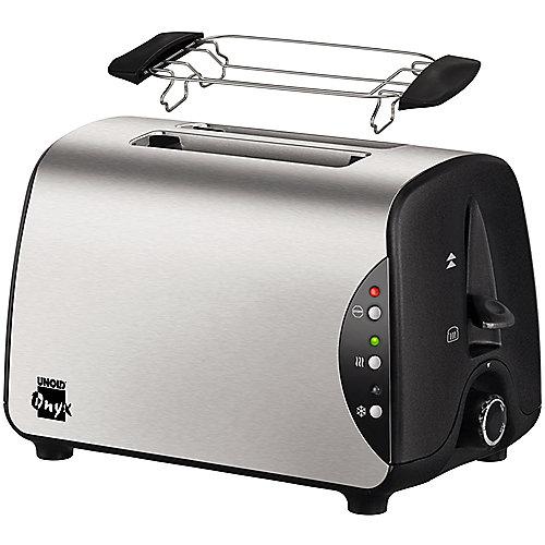 Unold 8066 Onyx 2-Scheiben-Toaster Edelstahl | 4011689806605