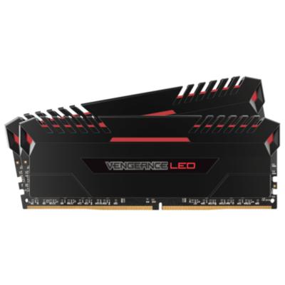 Corsair 16GB (2x8GB)  Vengeance LED Rot DDR4-3000 RAM CL15 (15-17-17-35) | 0843591090254