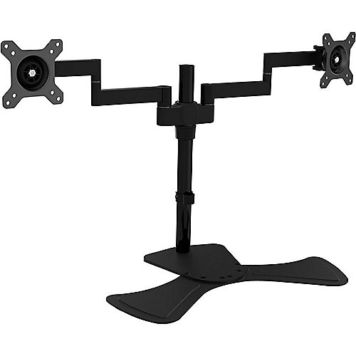 V7 DS1FSD-1E Professional Dual Swivel Desk Stand Mount