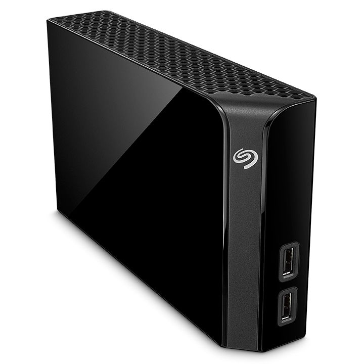 Seagate Backup Plus Hub USB3.0 - 4TB Schwarz