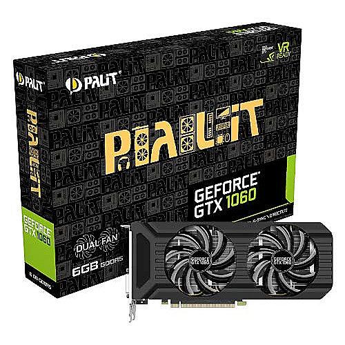 GeForce GTX 1060 Dual 6GB GDDR5 Grafikkarte DVI/HDMI/3xDP | 4710636269172