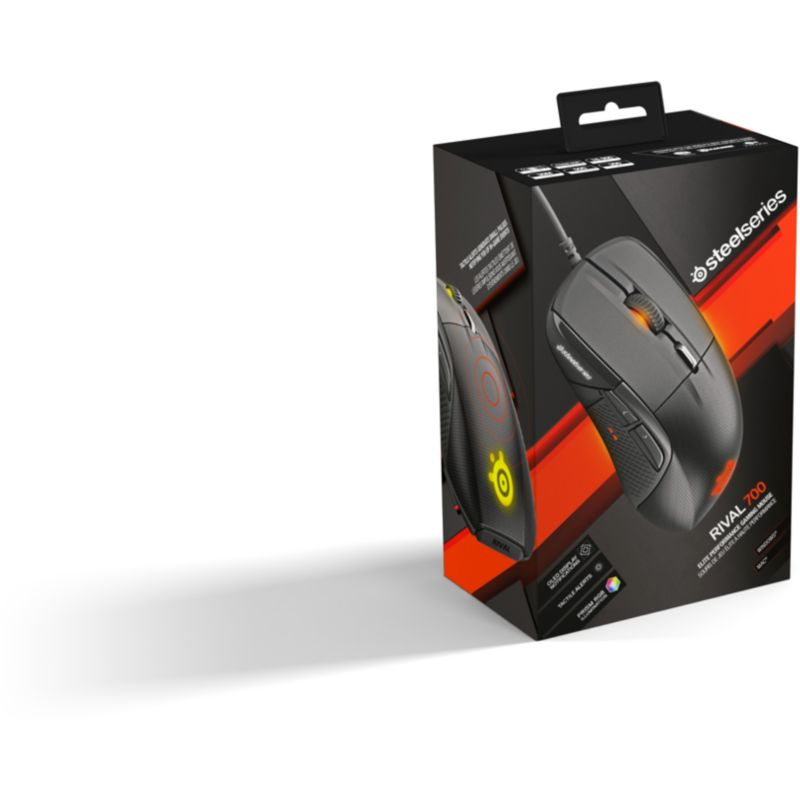 SteelSeries Rival 700 Gaming Maus schwarz