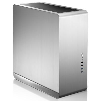 Cooltek  Jonsbo UMX4 Midi Tower mATX Gehäuse, USB3.0, Silber | 4250140370808