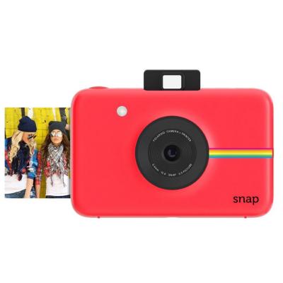 Cyberport Polaroid SNAP Sofortbildkamera Digitalkamera rot | 0840102133707