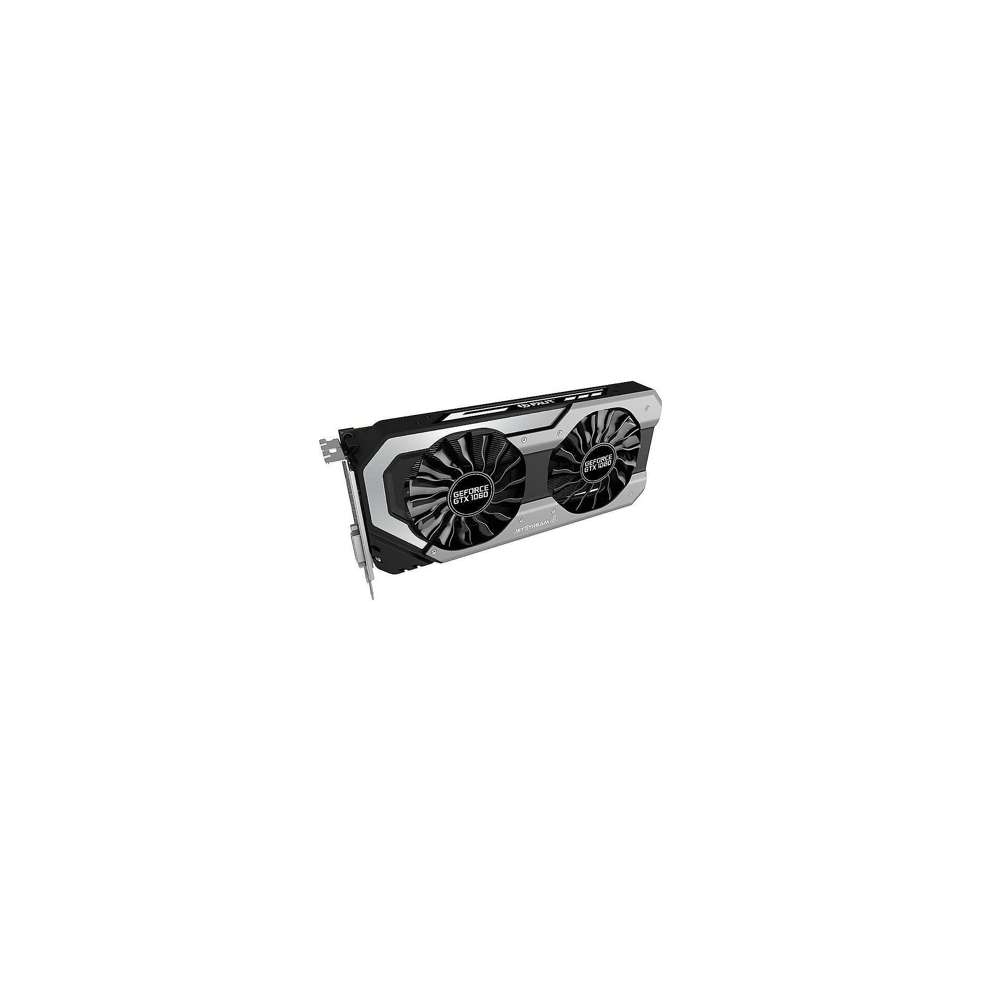 Palit GeForce GTX 1060 SuperJetStream 6GB GDDR5 Grafikkarte DVI/HDMI/3xDP
