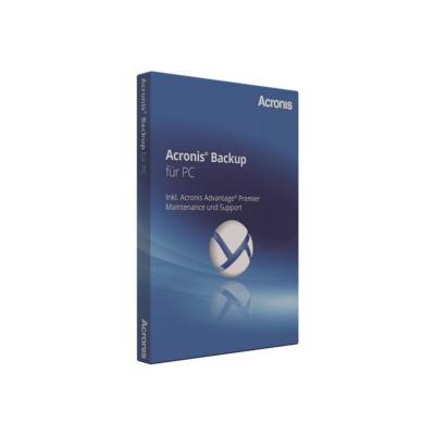 Acronis  Backup für PC v.12 (DE) Box   4260019575128