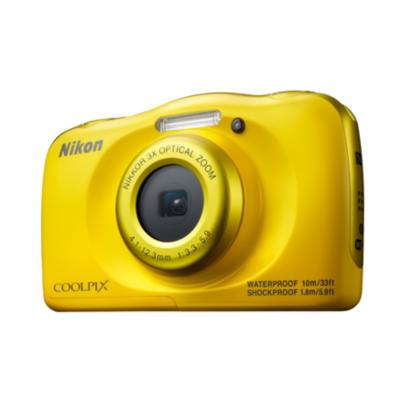 Nikon  COOLPIX W100 Unterwasserkamera gelb   0018208952236