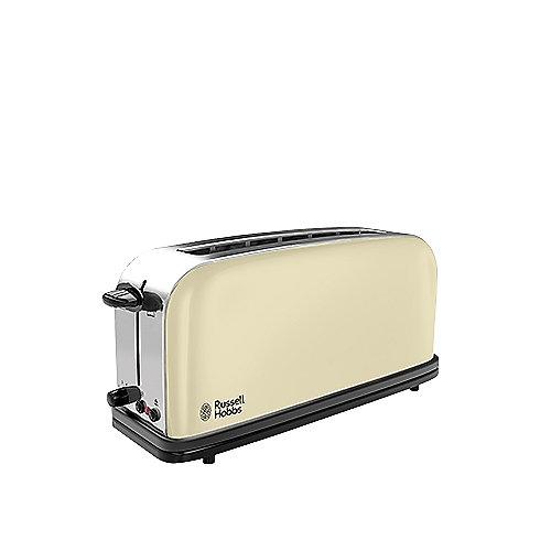 Russell Hobbs 21395-56 Colours Langschlitz-Toaster Classic Cream | 4008496892815