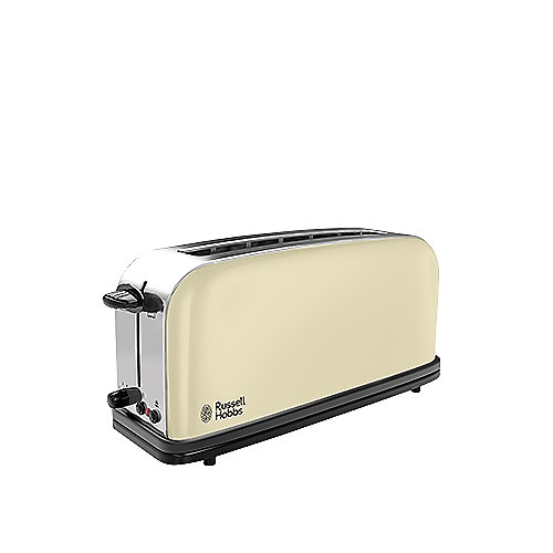 Russell Hobbs 21391-56 Colours Langschlitz-Toaster Flame Red | 4008496814855