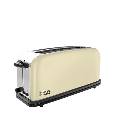 Russell Hobbs 21391-56 Colours Langschlitz-Toaster Flame Red