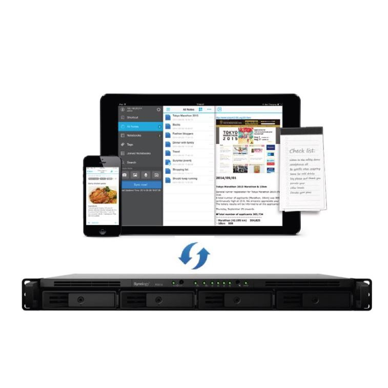 Synology Rackstation RS816 NAS System 4-Bay