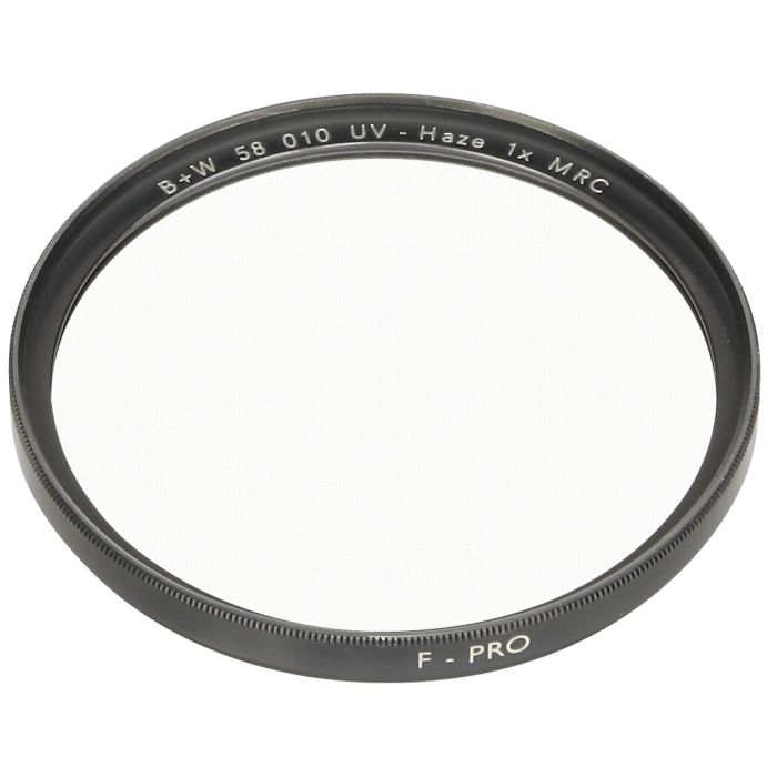 B&W UV-Filter (010) MRC 58 ES