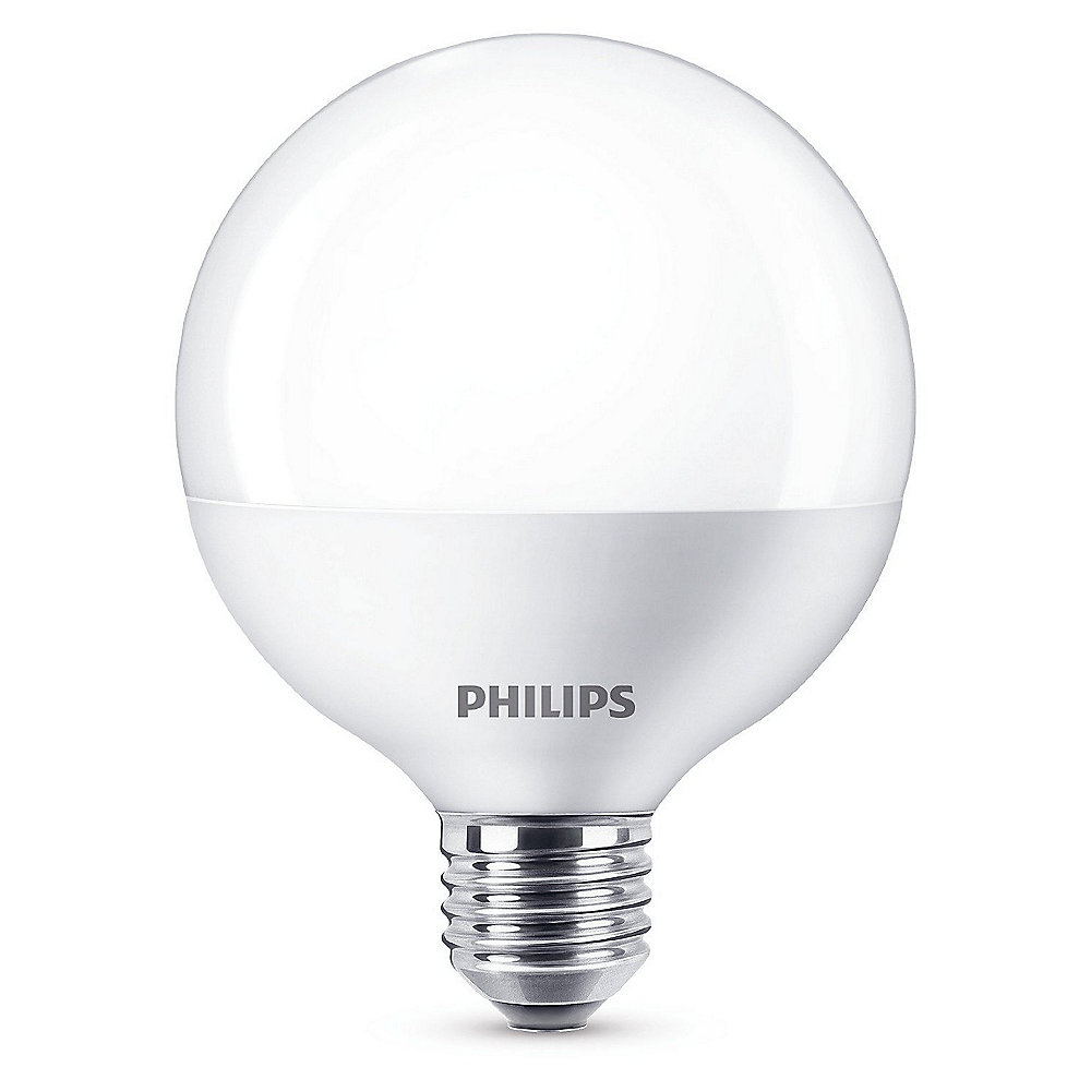 Philips LED-Globe 9,5W (60W) E27 matt warmweiß
