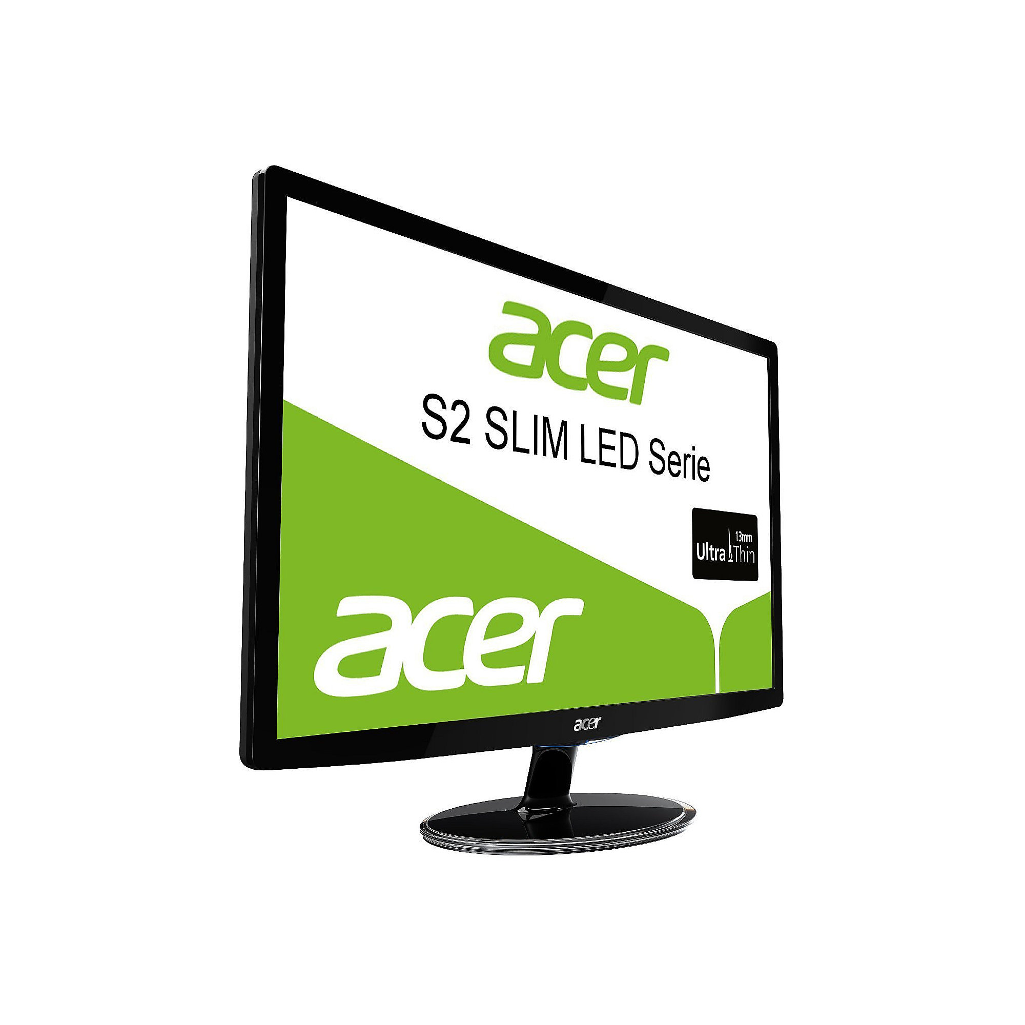 ACER S242HLCbid Full HD LED Monitor mit Mega-Kontrast