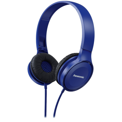 Panasonic  RP-HF100M On-Ear Kopfhörer blau | 5025232851034