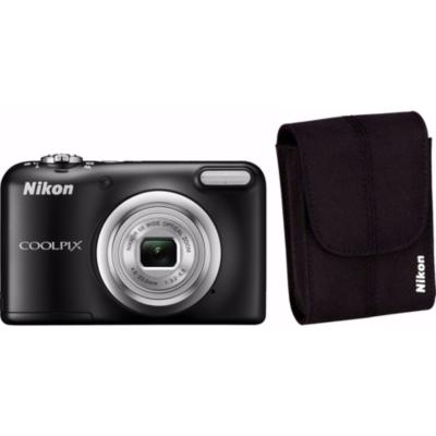 Nikon  COOLPIX A10 Digitalkamera Kit schwarz + Tasche   0018208946280