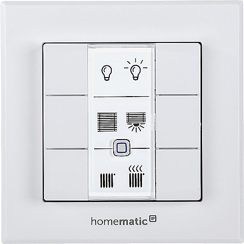 Homematic IP Wandtaster 6-fach HmIP-WRC6