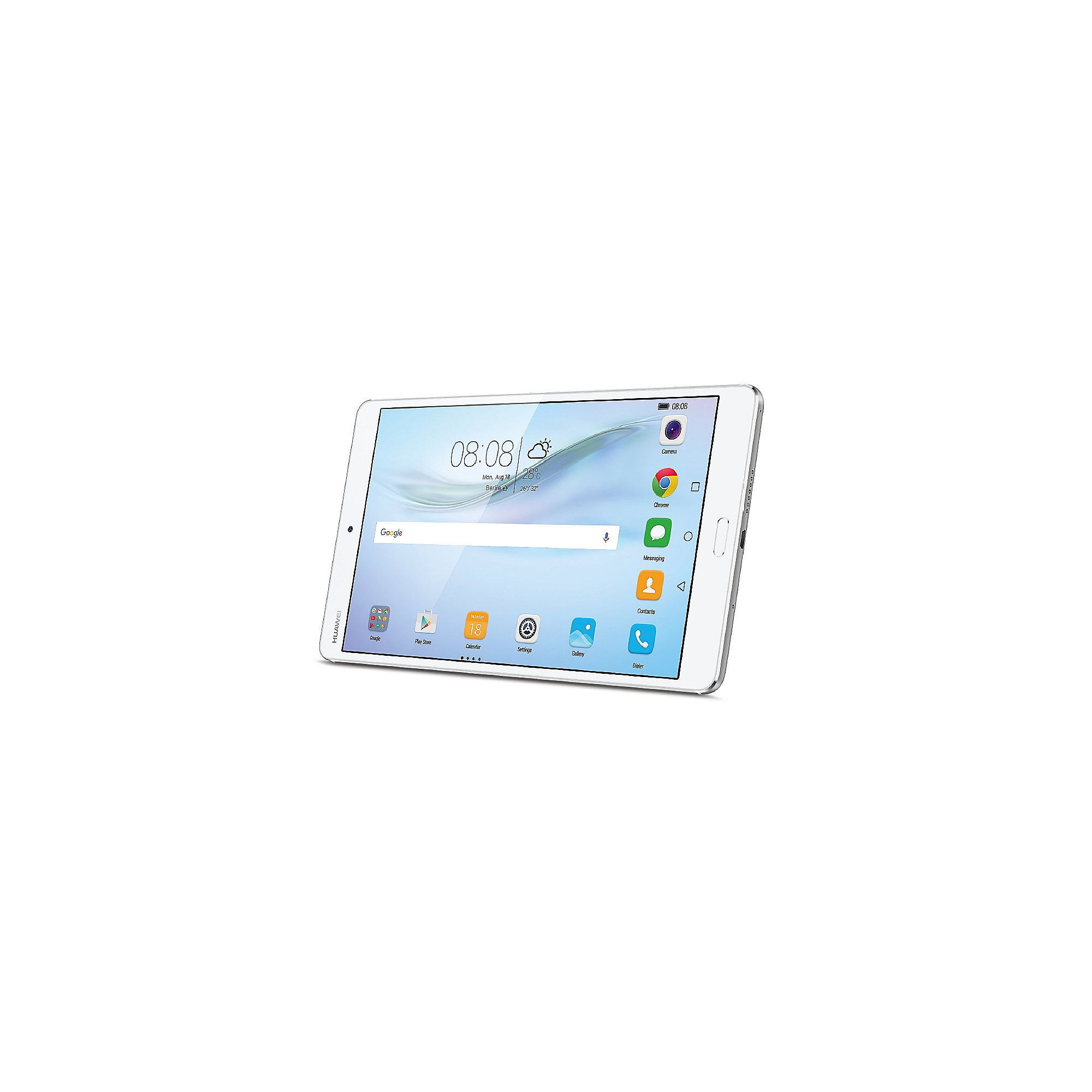 HUAWEI MediaPad M3 Tablet WiFi 32 GB Android 6.0 silber