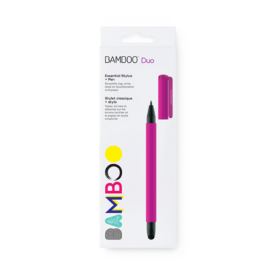 Wacom  Bamboo Stylus duo4 Eingabestift pink   4949268619967
