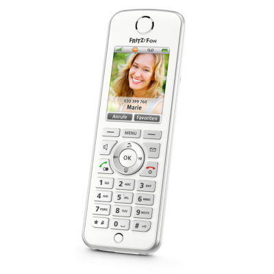 AVM  FRITZ!Fon C4 schnurloses DECT-Komforttelefon für FRITZ!Box | 4023125026249