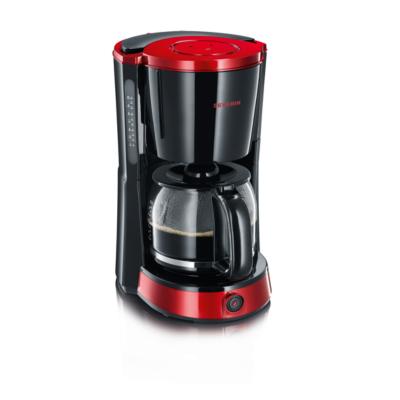 Severin  KA 4492 Select Kaffeautomat Schwarz-Rot metallic | 4008146012990