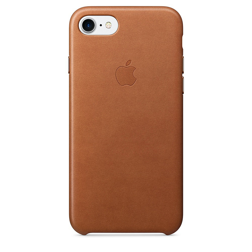 Apple Original iPhone 7 Leder Case-Sattelbraun