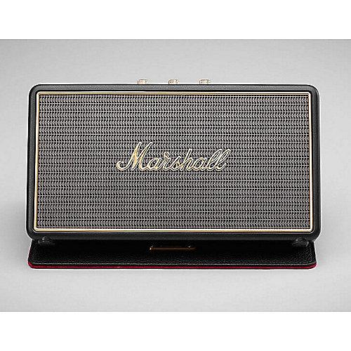 Marshall Stockwell schwarz – tragbarer BT Lautsprecher inkl. Case | 7340055319317