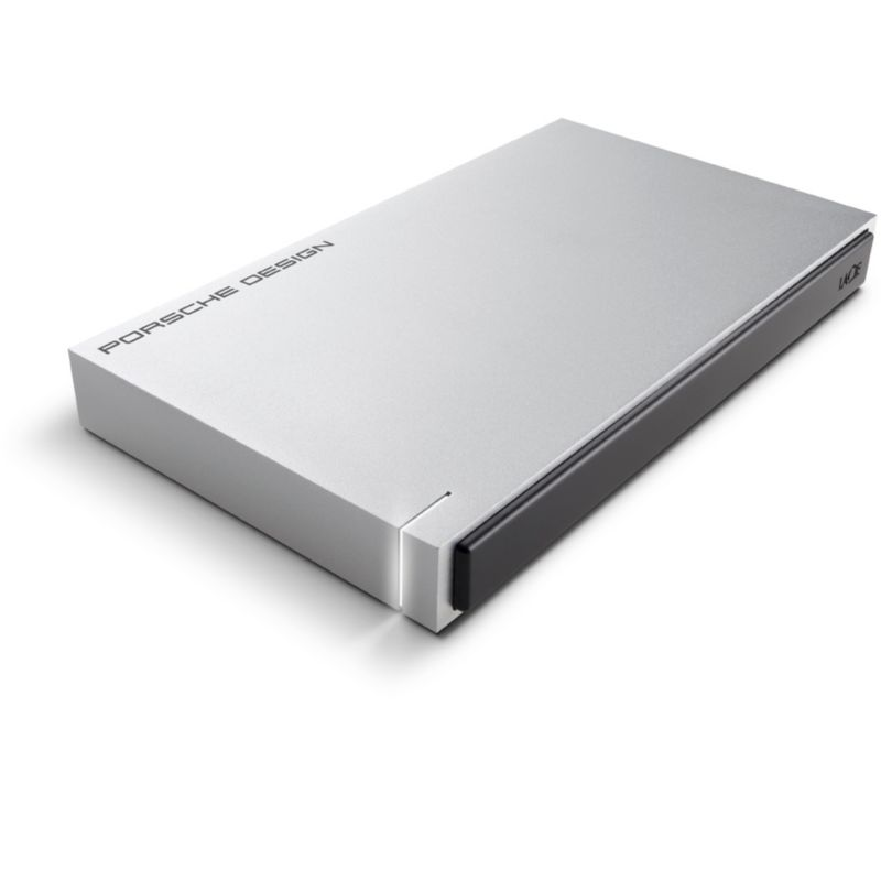 LaCie Porsche Design Mobile Drive P9223 USB 3.0 - 500GB 2.5 zoll Light Gray