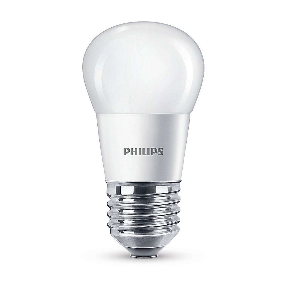 Philips LED Tropfen P45 5,5W (40W) E27 matt warmweiß