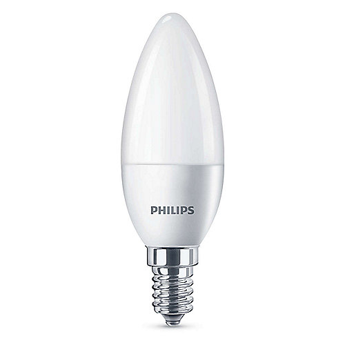 Philips LED Kerze B35 5,5W (40W) E14 matt kaltweiß