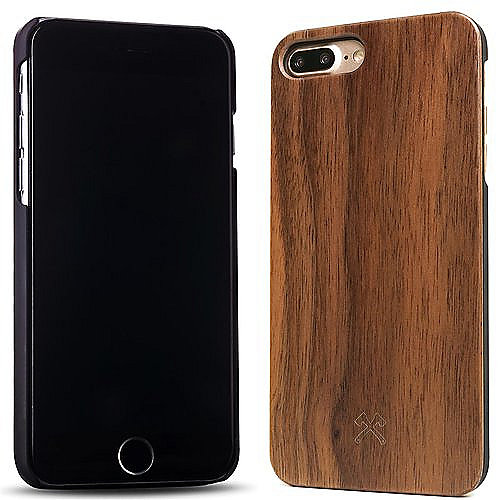 woodcessories ecocase classic f r iphone 8 7 plus walnuss. Black Bedroom Furniture Sets. Home Design Ideas