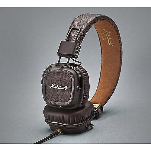 Major II On-Ear-Kopfhörer braun | 7340055311120