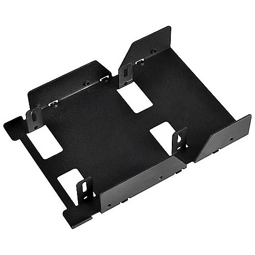 SilverStone SST-SDP08-E 3.5 Zoll Einbaurahmen für 3x 2,5 Zoll Festplatten/SSD | 4710007223598