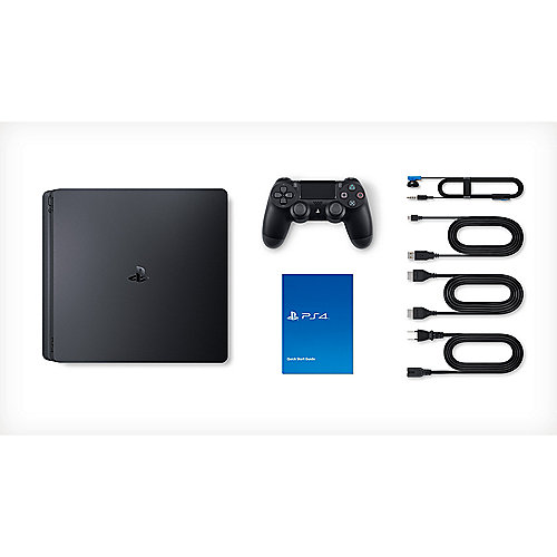 Sony Playstation 4 Slim 1tb Konsole Schwarz Cuh 2216b Cyberport