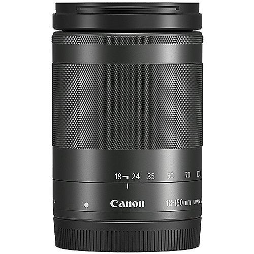 EF-M 18-150mm 1:3,5-6,3 IS STM Reise Zoom Objektiv schwarz | 4549292063455