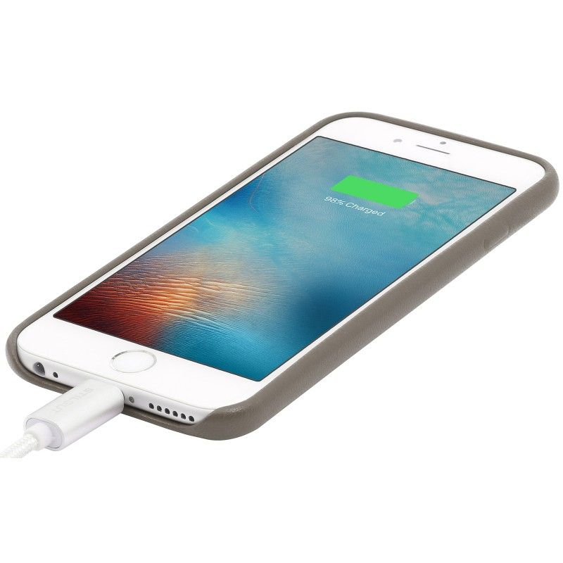 StilGut Premium Backcover für Apple iPhone 6/6s grau